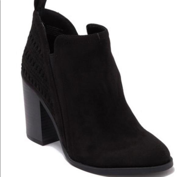 Evita Chunky Heel Ankle Boot   Poshmark